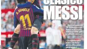 Portada del diario Mundo Deportivo (24/02/2019)
