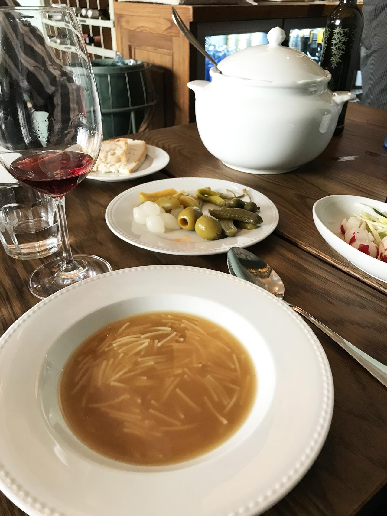 La Cocina de Frente - sopa