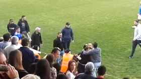 Los ultras del Xerez CD agreden a los jugadores del Écija al final del partido