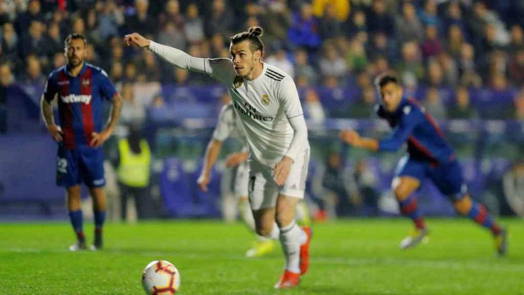 Bale marca de penalti al Levante
