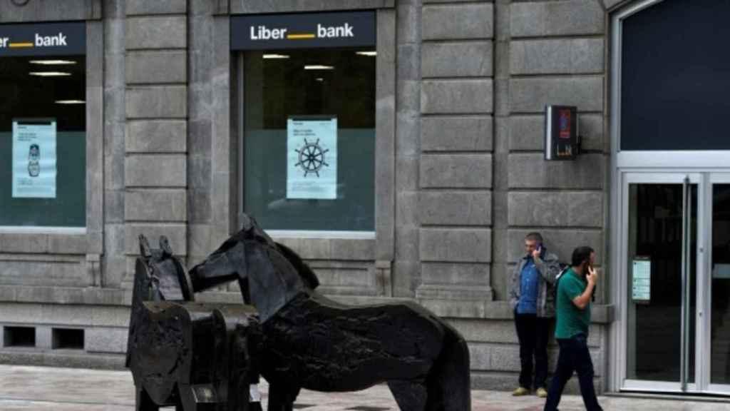 Una sucursal de Liberbank.