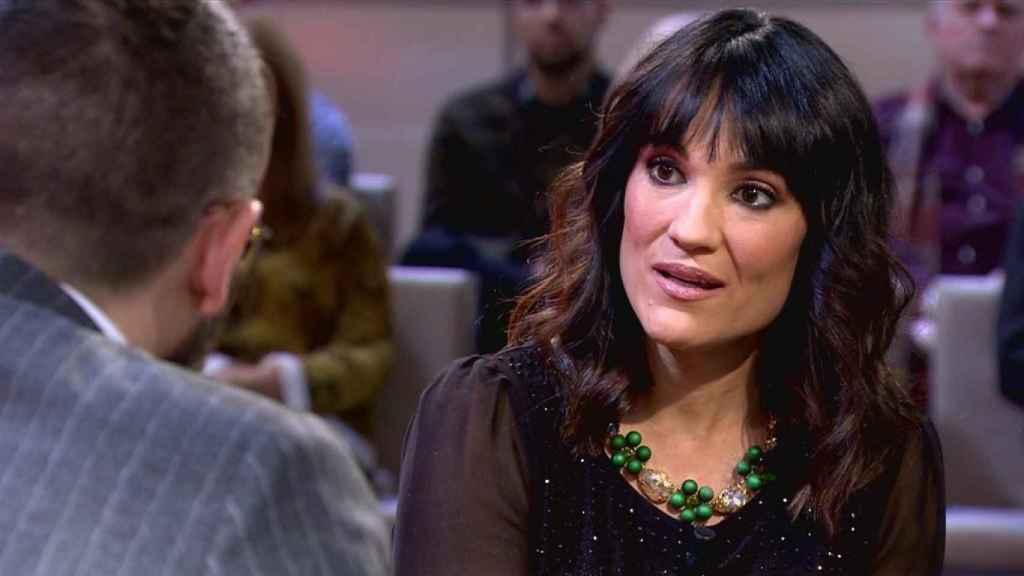 Irene Villa relatando a Risto Mejide cómo ha sido su vida tras sufrir un atentado de ETA.