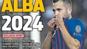 Portada del diario Sport (25/02/2019)