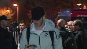 Bale a la llegada al Ciudad de Valencia. Foto: Twitter (@elchiringuitotv)
