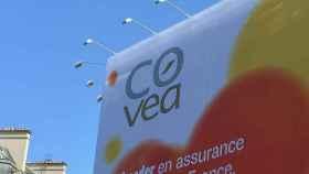 Imagen de archivo de una publicidad de Covea.