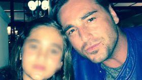 David Bustamante y su hija Daniella en una imagen de Instagram