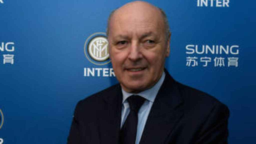 Marotta, CEO del Inter de Milán
