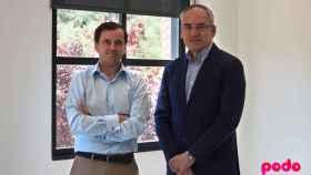 Jorge Capilla, director general de Podo, y Joaquín Coronado, cofundador de la compañía.
