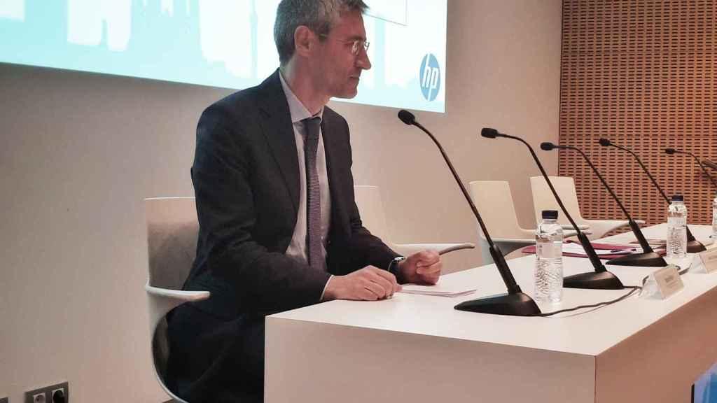 Ramón Pastor, vicepresidente y director general del negocio de HP 3D Printing y responsable del centro HP Barcelona