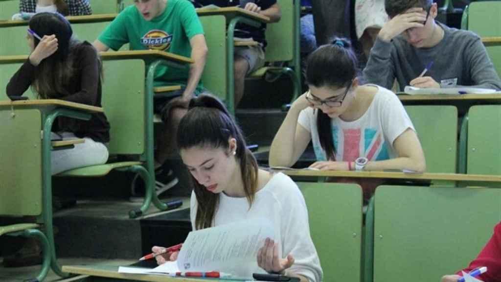 Estudiantes en aula universitaria. Foto: Europa Press