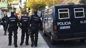 Agentes de la Policía Nacional. Foto: EFE