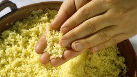 Sémola de trigo, un alimento con un gran aporte de fibra.