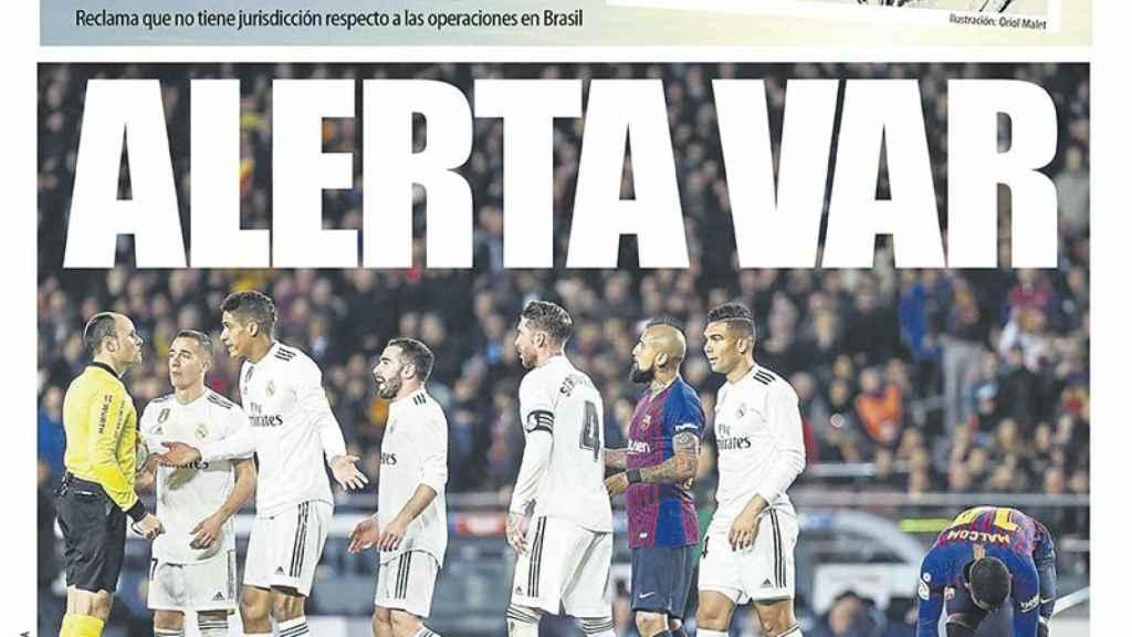 Portada Mundo Deportivo (26/02/19)