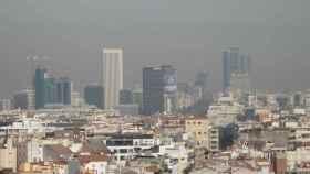 Madrid bajo el escenario 1 por contaminación.