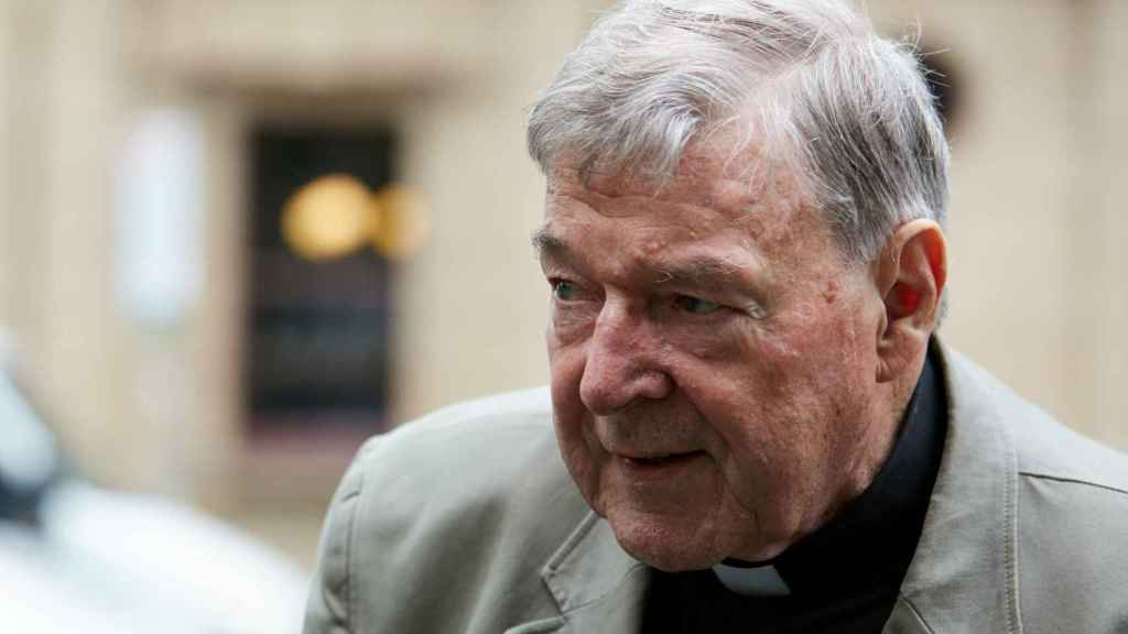 El cardenal George Pell, en el juzgado de Melbourne.