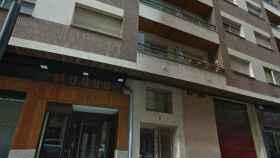 Edificio de la vivienda okupada