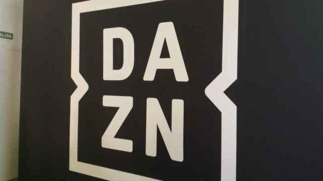 Logo de DAZN, en una imagen de archivo.