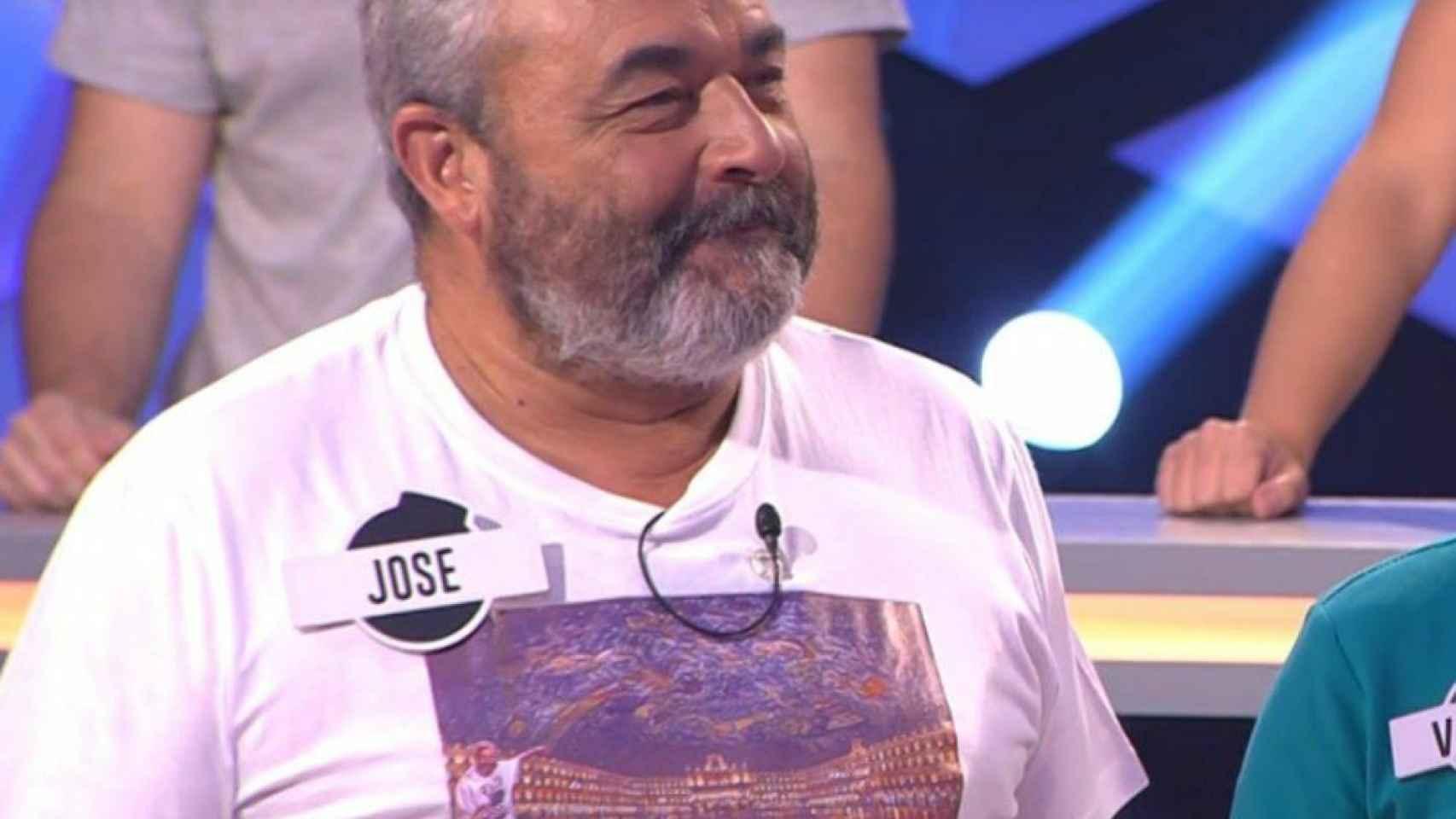 José Pinto en una captura durante su participación en '¡Boom!'.