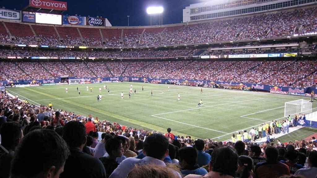 El estadio de los Giants durante el Mundial del 94.