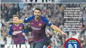La portada del diario Mundo Deportivo (28/02/19)