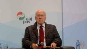 El expresidente del PNV Xabier Arzalluz.