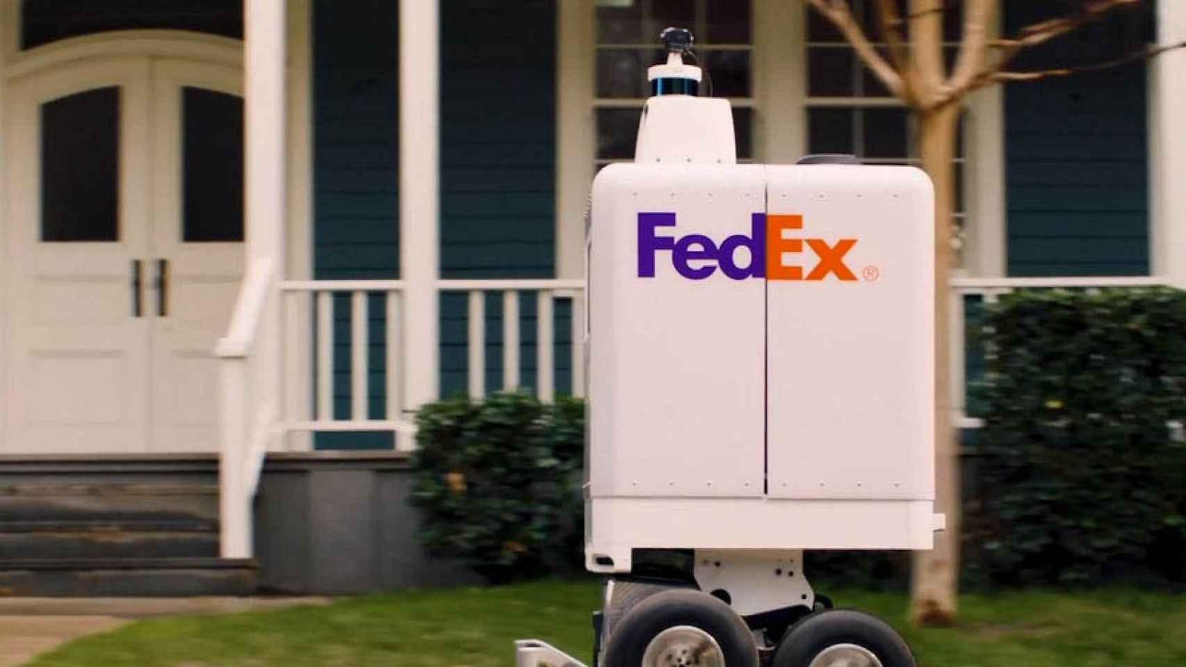 robot repartidor FedEx 1