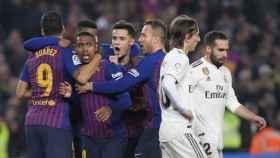 Imagen del 'Madrid-Barça'