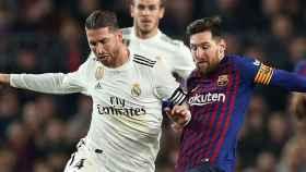Sergio Ramos y Messi.