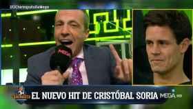 Soria y su 'hit' tras El Clásico. Foto: Twitter (@elchiringuitotv)