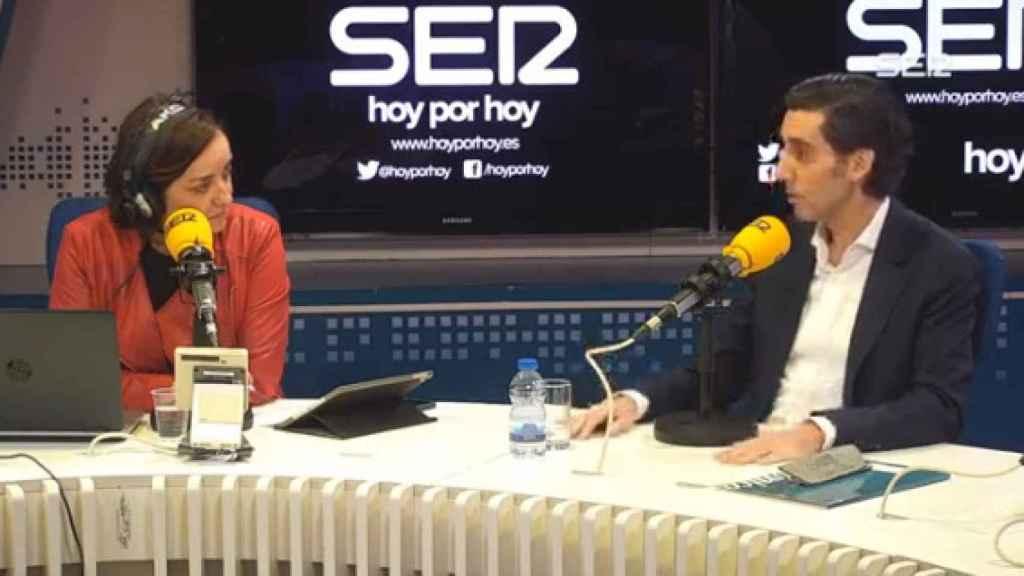 José María Álvarez Pallete, presidente ejecutivo de Telefónica en Cadena Ser.