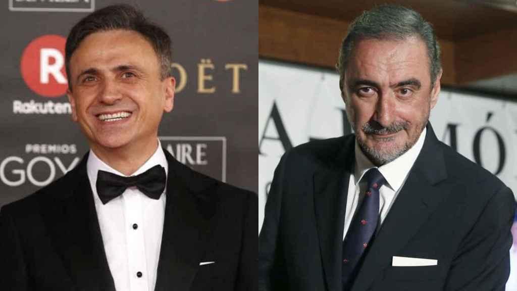 José Mota y Carlos Herrera fueron dos de los invitados a la fiesta de cumpleaños del Rey Juan Carlos.