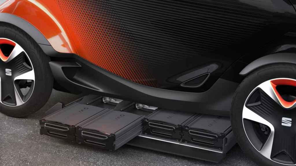 Baterías intercambiables del Seat Minimó