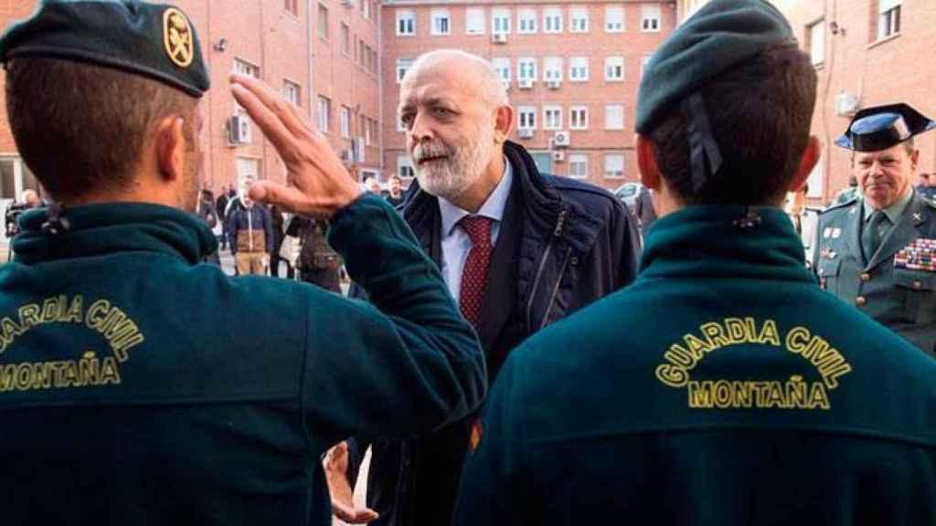 El director de la Guardia Civil, Félix Azón.