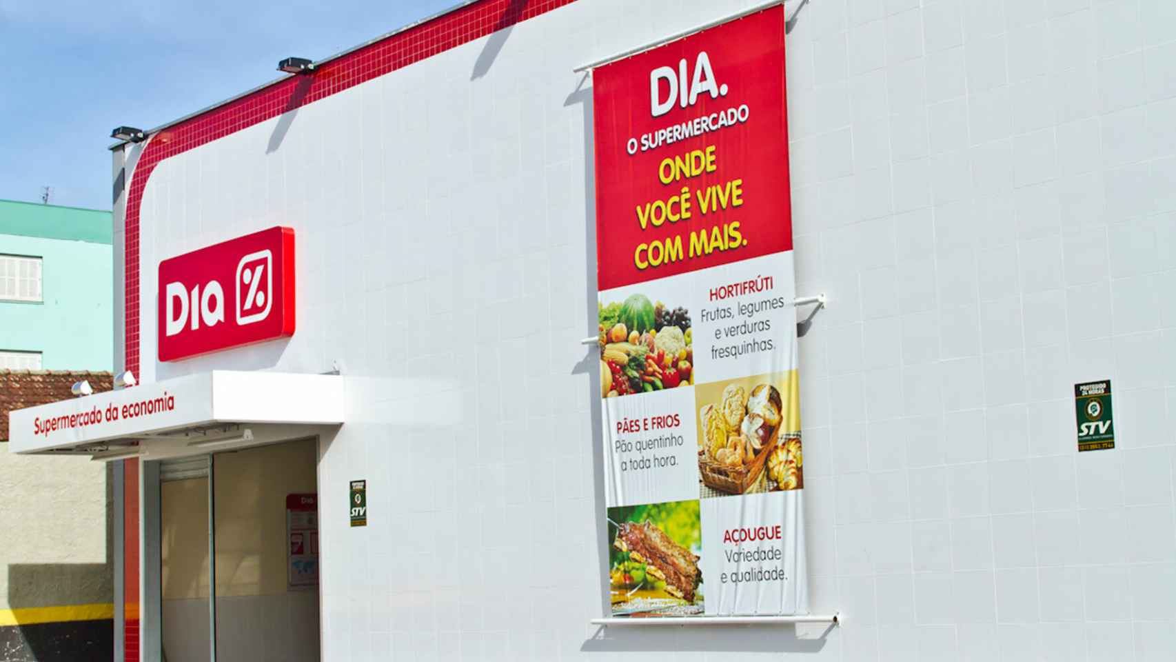 Una tienda de Dia en Brasil.