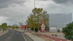 Zona en la que fue hallada la víctima, en Cáceres