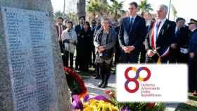 El presidente del Gobierno, Pedro Sánchez, homenajea a los republicanos exiliados en Francia (Archivo).