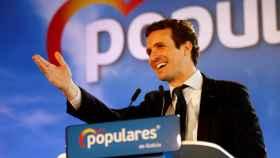 Pablo Casado, en la convención de servicios sociales del PP en Ferrol.