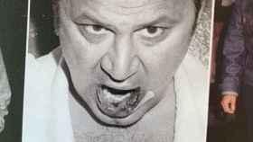 El labio del paparazzi Ron Galella tras robarle unas fotos a Richard Burton