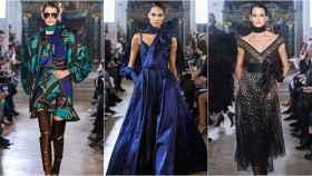 Desfile de Elie Saab en la semana de la moda de París.