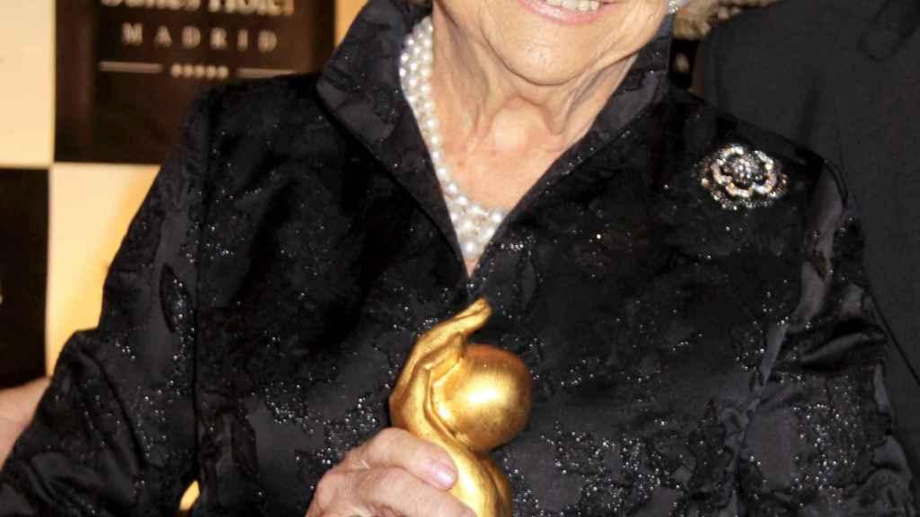 Mercedes Junco Calderón, fundadora de '¡HOLA!'.