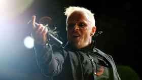 Keith Flint, durante un concierto de The Prodigy.