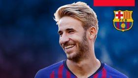 El Barcelona hace oficial la rescisión de contrato de Samper. Foto: Twitter (@FCBarcelona_es)