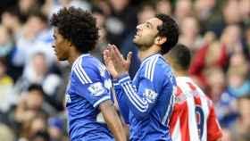 Salah, en el Chelsea