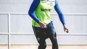 Toño García, jugador del Levante. Foto: Twitter (@togarcia89)
