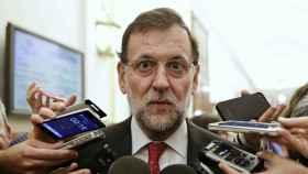 Mariano Rajoy, sorprendido. Marc Comas/Reuters.