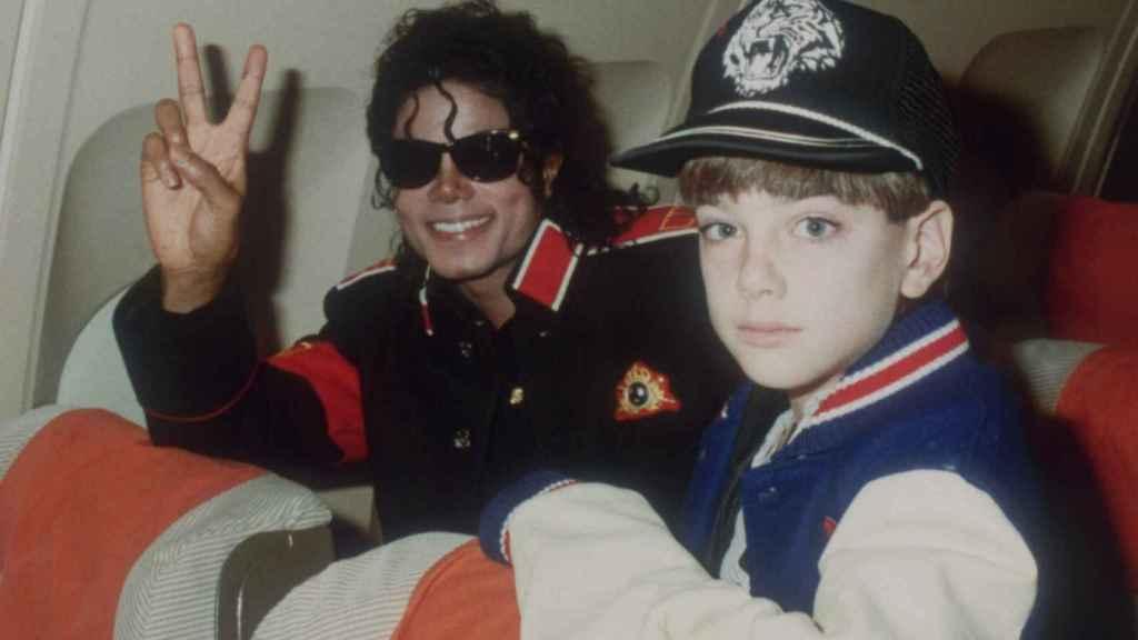 Michael Jackson con Jimmy.