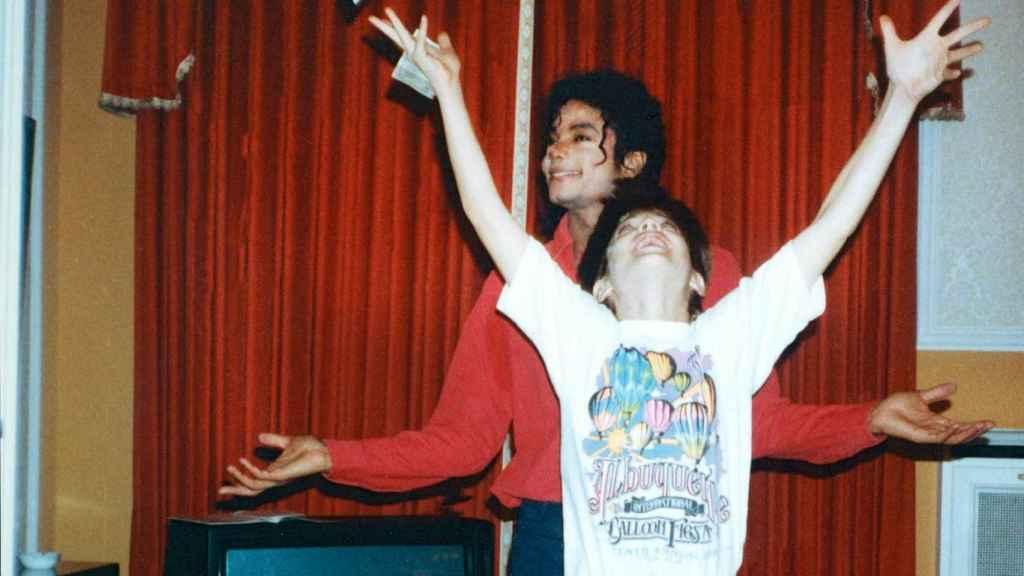 Michael Jackson y Jimmy.