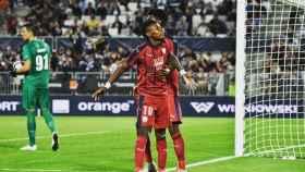 Kalu Samuel con el Girondins. Foto: Instagram (@kalusamuel51)