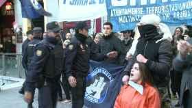 Manifestación de Hogar Social.