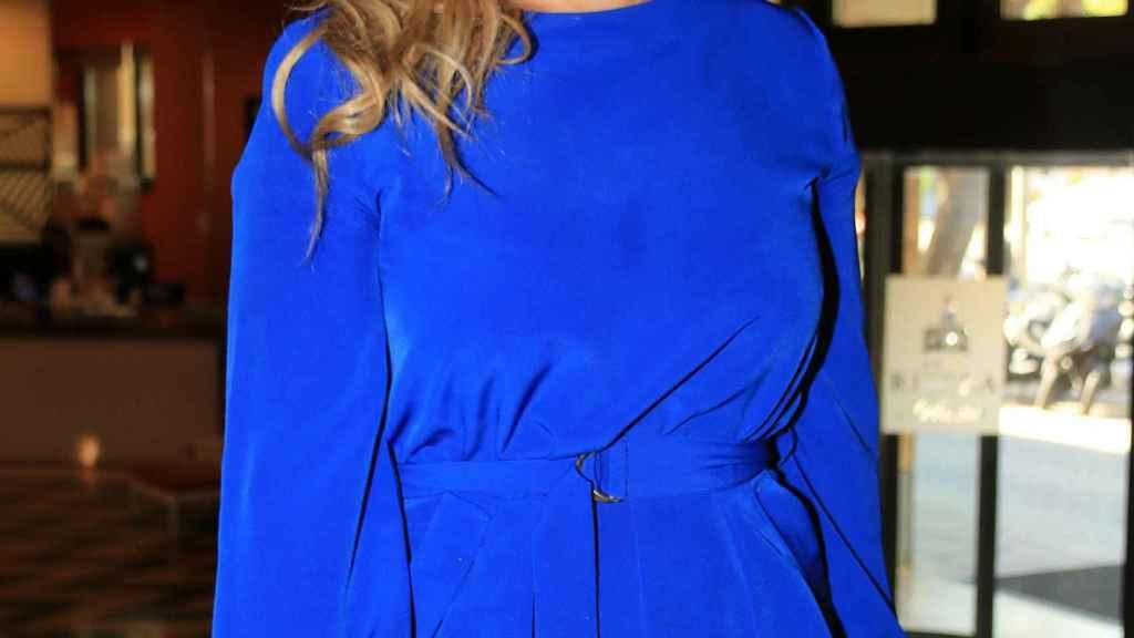 María José Campanario en su última aparición pública en octubre de 2018.